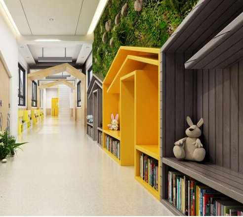 京华合木幼儿园走廊设计