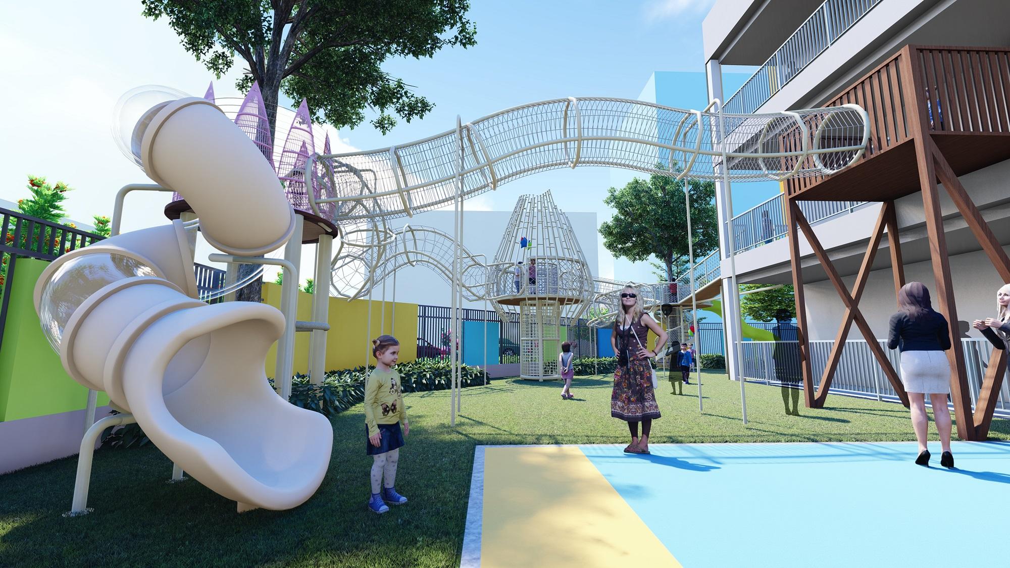 幼儿园户外改造